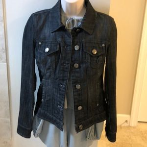 Guess denim fitted jean jacket